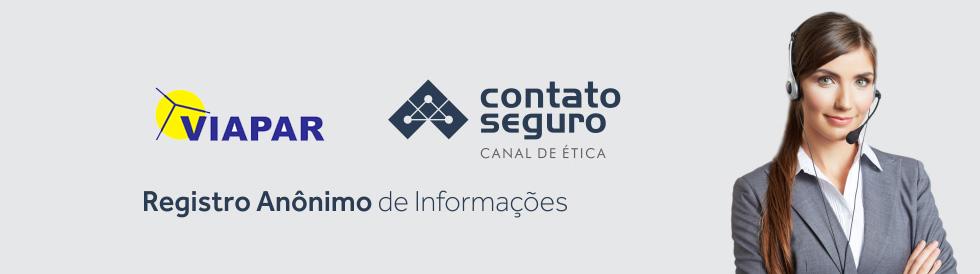 Contato Seguro - Registro Anônimo de Informações