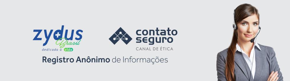 Zydus Brasil e Contato Seguro